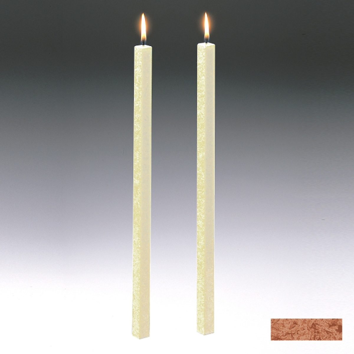 Amabiente Amabiente Kerze CLASSIC Kastanie 40cm - 2er Set