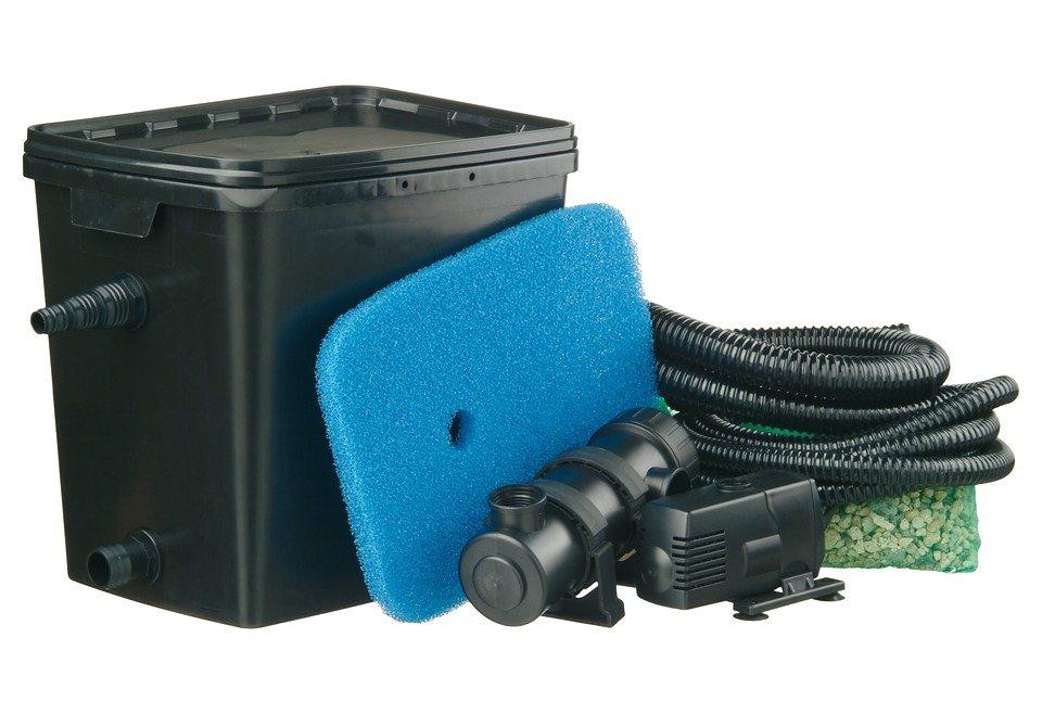 Set: Teichfilter »Filtra Pure 4000 Plus« in schwarz