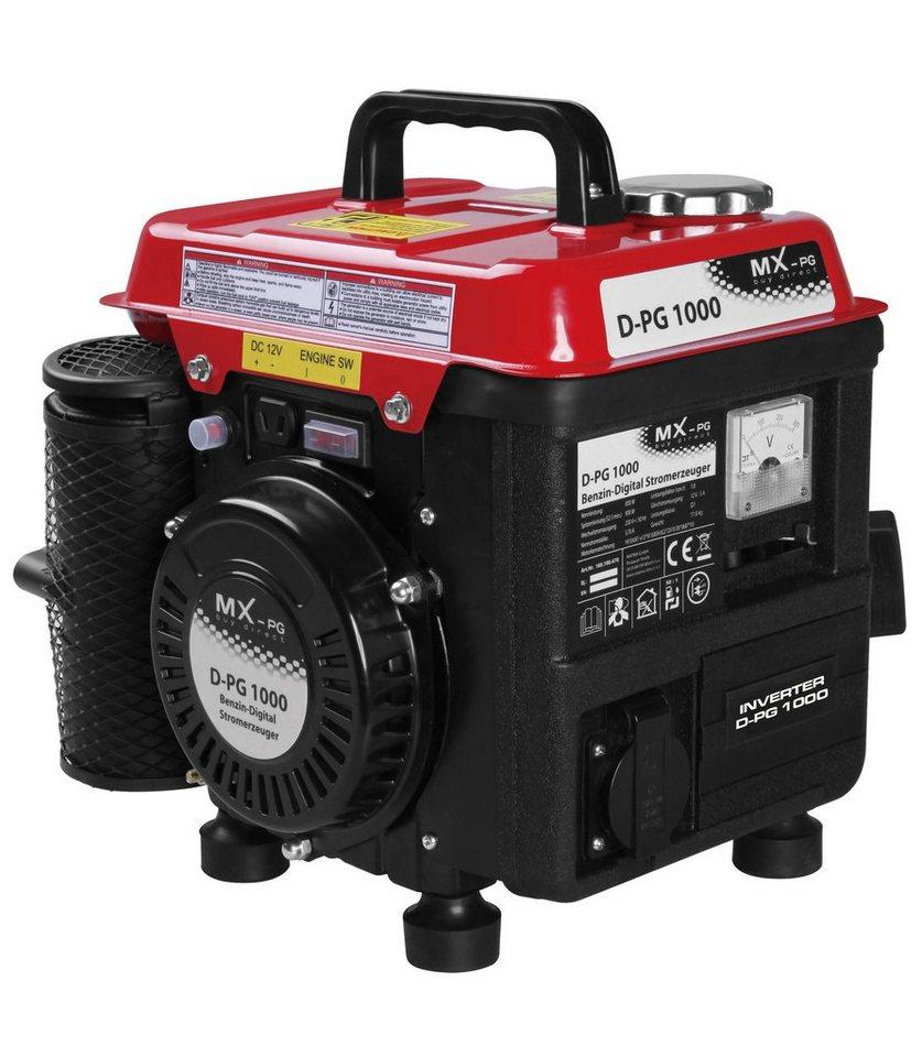 Matrix Stromerzeuger »D-PG 1000« in rot