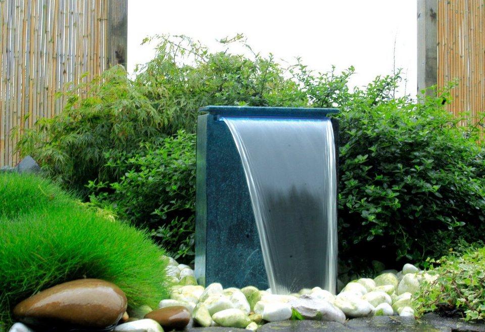 Komplett-Set: Gartenbrunnen »Vicenza« in grau
