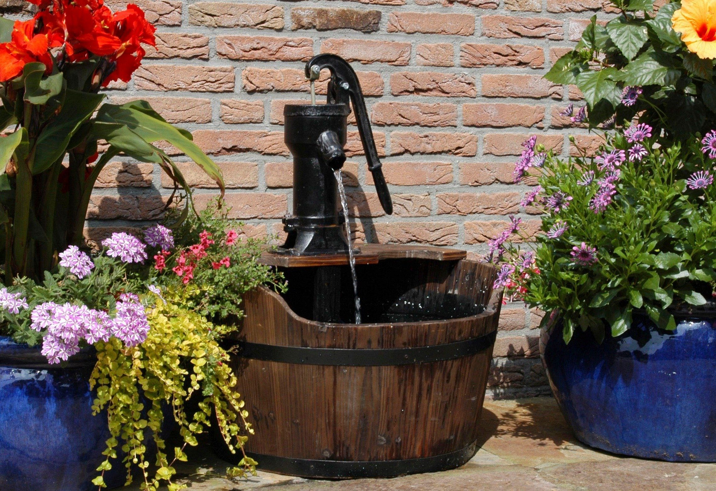Komplett-Set: Gartenbrunnen »Newcastle«