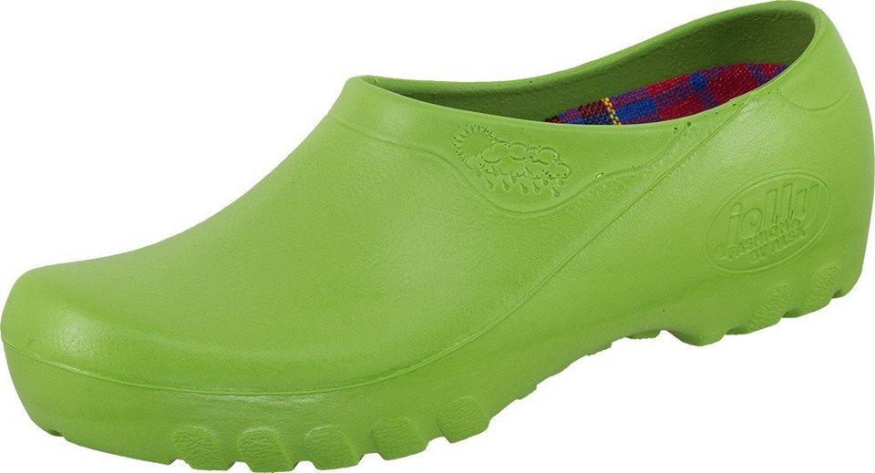 Alsa Clogs in hellgrün