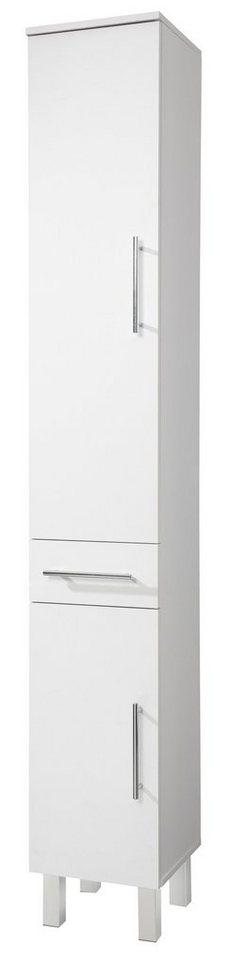 Hochschrank »Novara«, Breite 30 cm in weiß