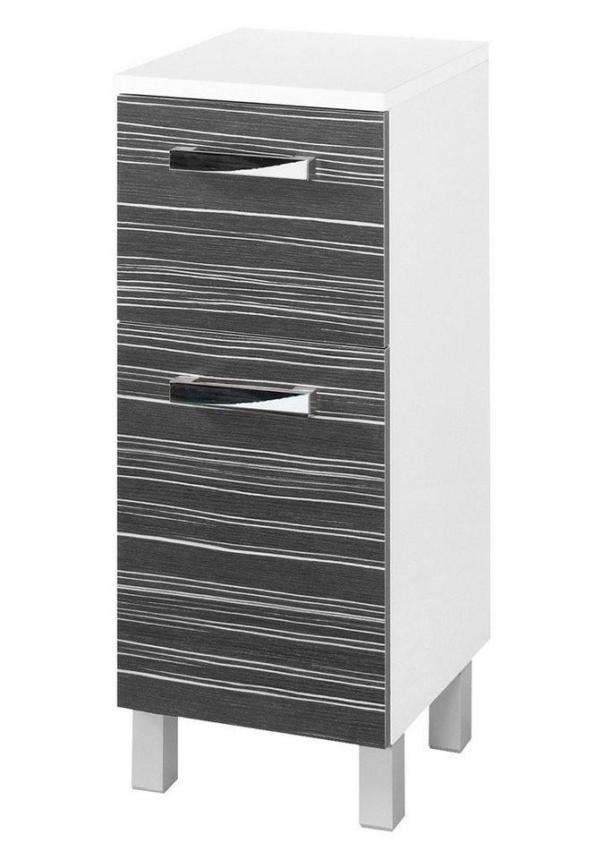 Schildmeyer Unterschrank »Tuja«, Breite 32,5 cm in schwarz/weiß