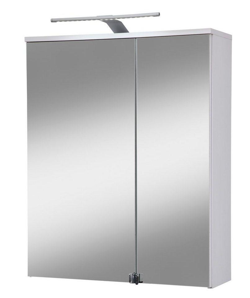 spiegelschrank novara breite 60 cm mit led beleuchtung online kaufen otto. Black Bedroom Furniture Sets. Home Design Ideas