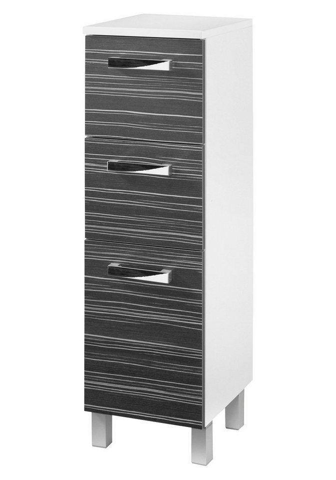 Midischrank »Tuja« 32,5 cm in schwarz/weiß