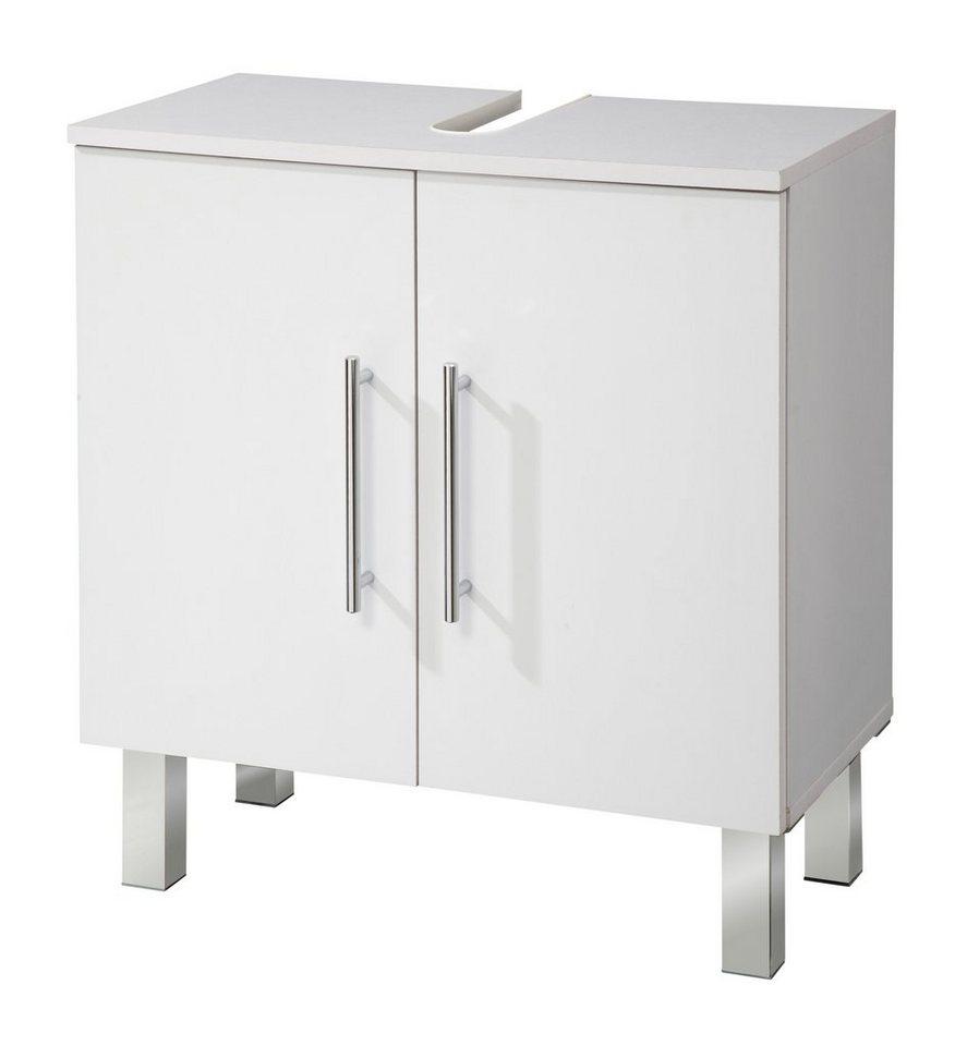 Kesper Waschbeckenunterschrank »Novara« 60 cm in weiß