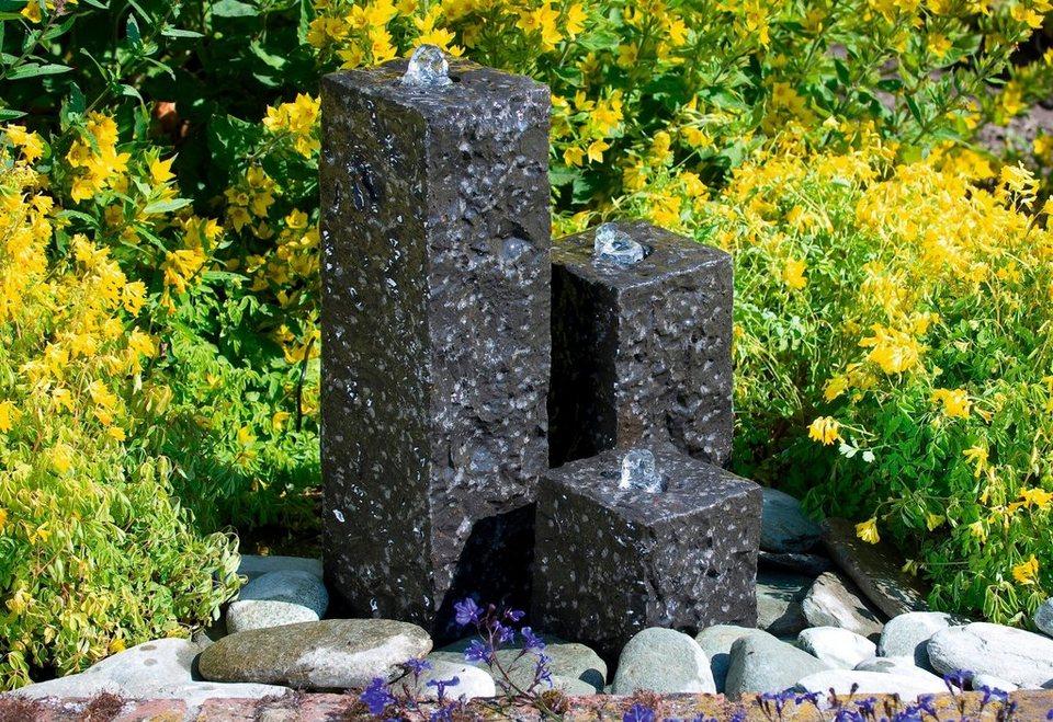 Gartenbrunnen »Modena« in grau