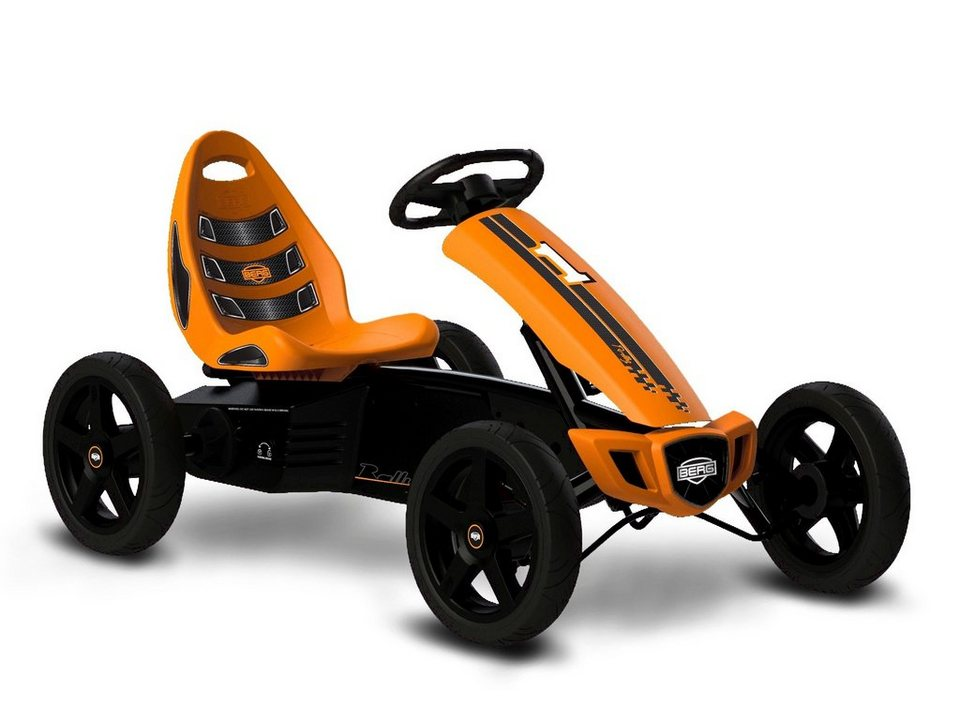 Go-Kart »Rally Orange« in schwarz
