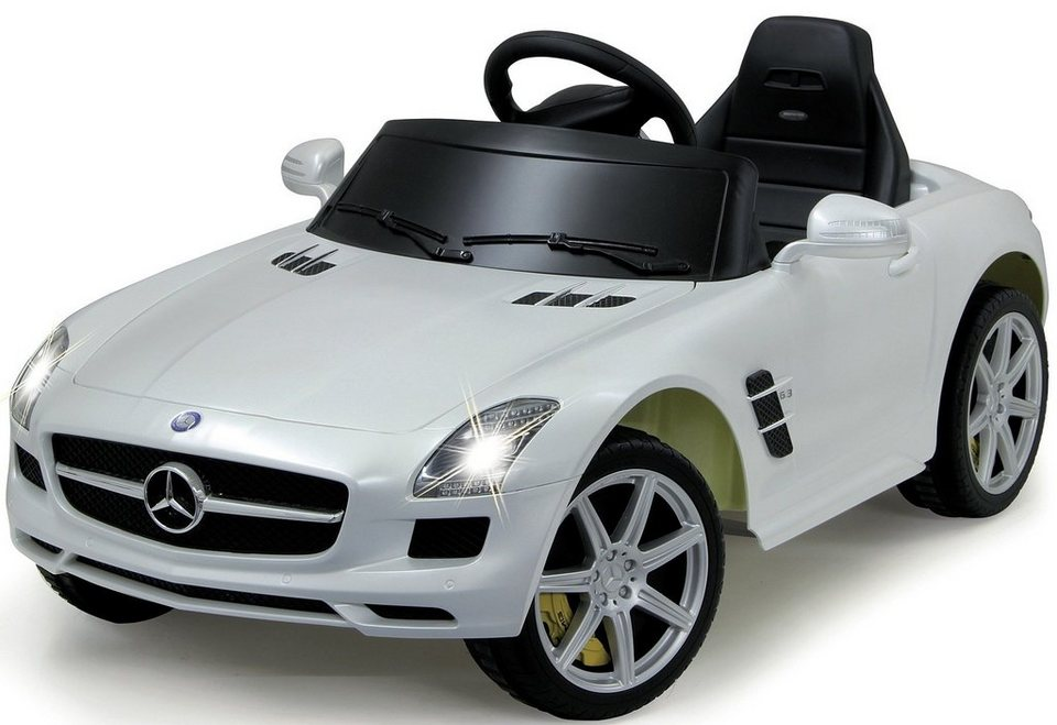 jamara elektroauto ride on mercedes sls amg f r kinder. Black Bedroom Furniture Sets. Home Design Ideas