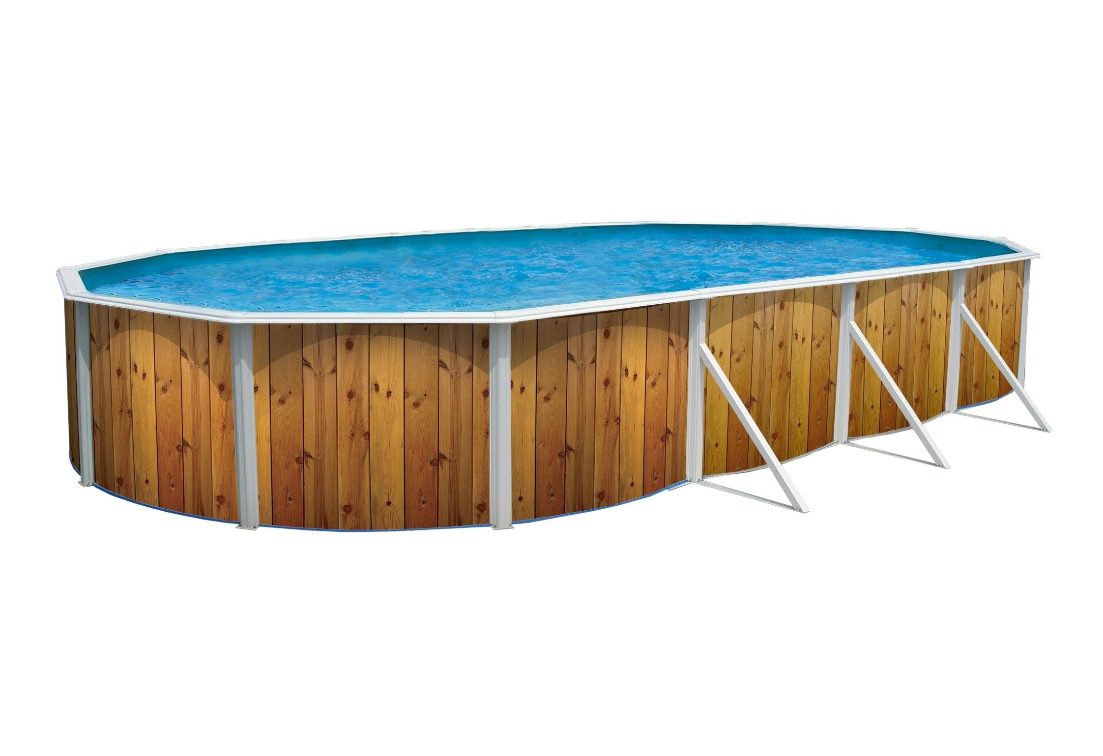 STEINBACH Ovalpool »Nuovo de Luxe«, LxBxH: 550 x 360 x 120 cm, 5-tlg.