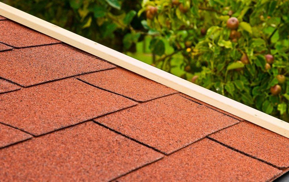 Rechteck-Dachschindeln in rot