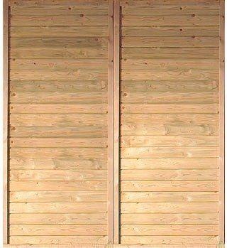 KARIBU Seitenwand , für Carport »Eco 2«/»Eco 3« BxL: 180 x 200 cm