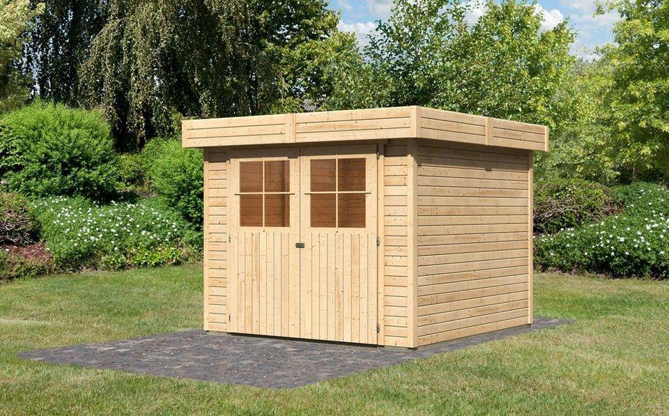 gartenhaus limburg 5 bxt 242x246 cm kaufen otto. Black Bedroom Furniture Sets. Home Design Ideas