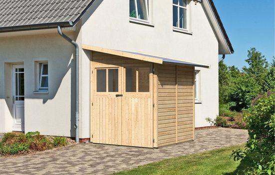 KARIBU Gartenhaus »Wandlitz 2«, BxT: 200x232 cm