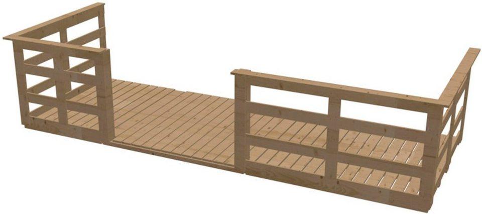 Terrasse, für Karibu-Produkte in Natur