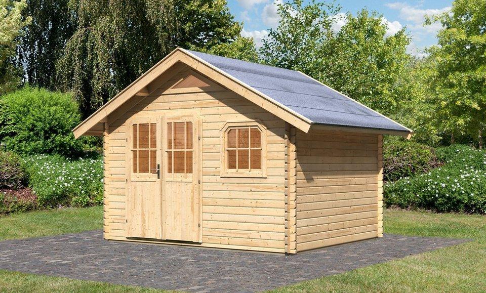 Gartenhaus »Pelegrin 3«, BxT: 312x282 cm in natur