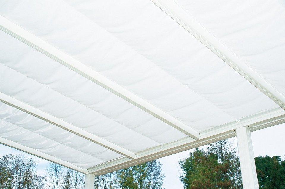 Sonnenbeschattung »Exklusiv 5«, BxT: 407 x 322 cm in weiß