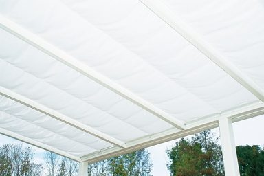 BECKMANN Sonnenbeschattung für Terrassendach »Exklusiv 6«, weiß