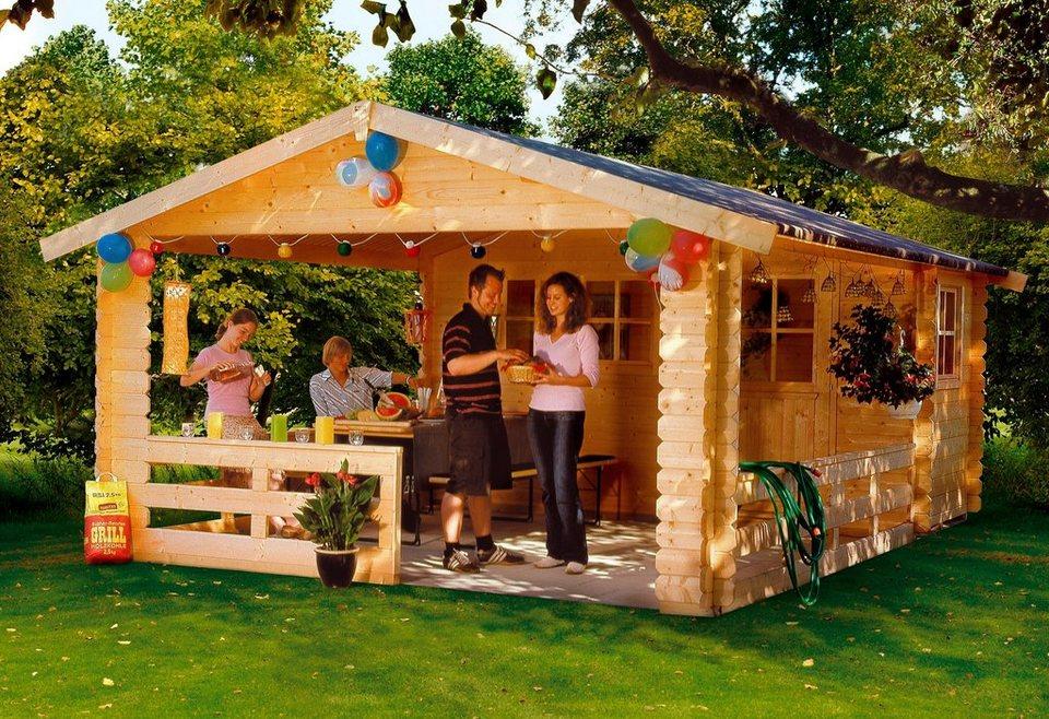 Gartenhaus »Alicante 1«, BxT: 380x513 cm in natur