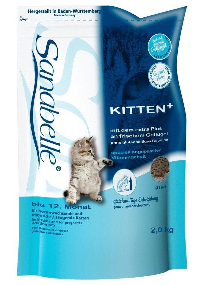 Katzentrockenfutter »Kitten«, 2 kg oder 10 kg in braun