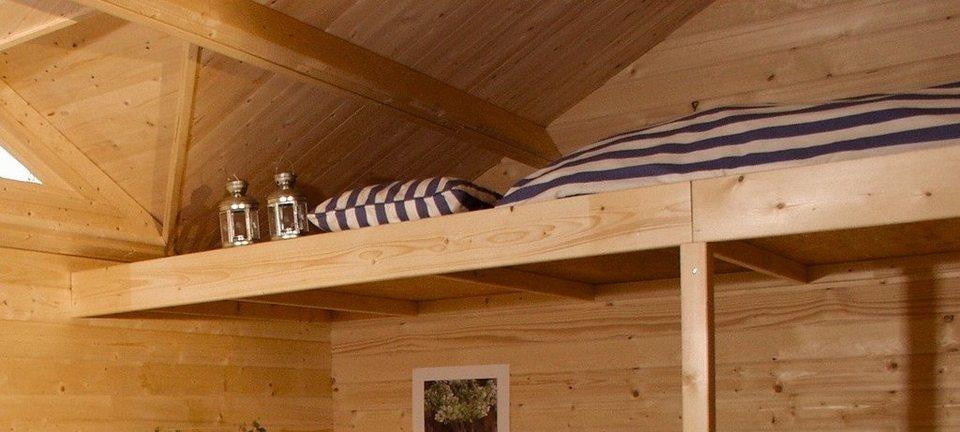 Schlafboden, für Karibu-Produkte in Natur