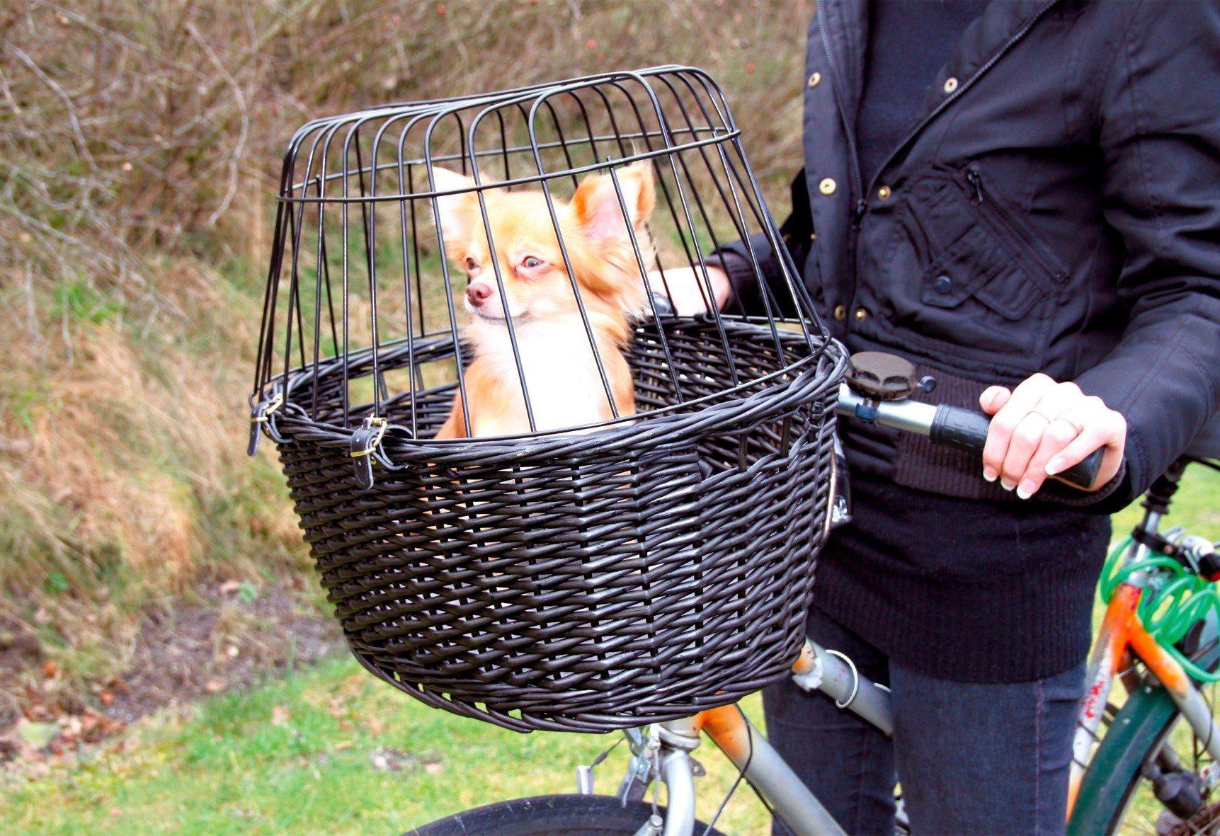 Trixie »Fahrradkorb mit Gitter«