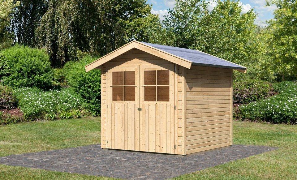 Gartenhaus »Tostedt 3«, BxT: 209x213 cm in natur