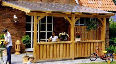 Terrassenüberdachung » Überdachung & Pergola | Otto Die Richtige Uberdachung Fur Den Garten