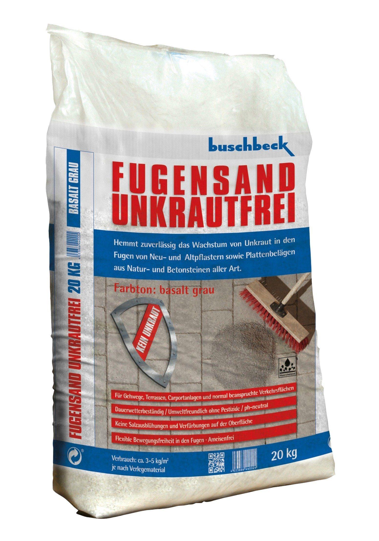Buschbeck Fugensand Unkrautfrei, grau