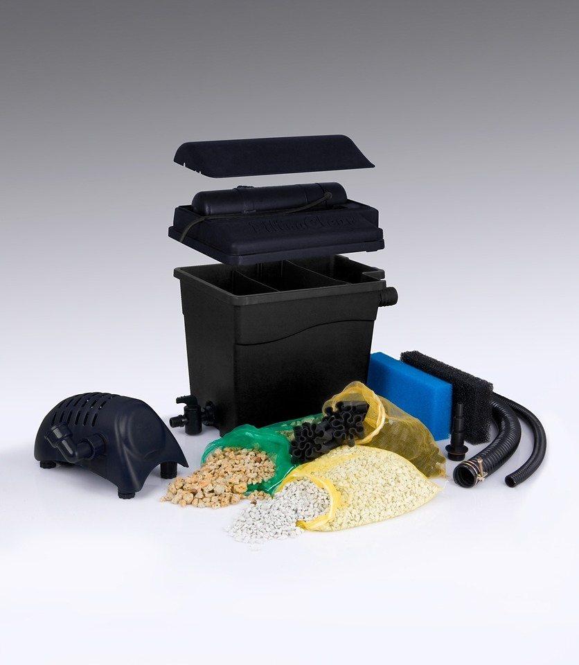 Set: Teichfilter »Filtra Clear 8000 Plus« in schwarz