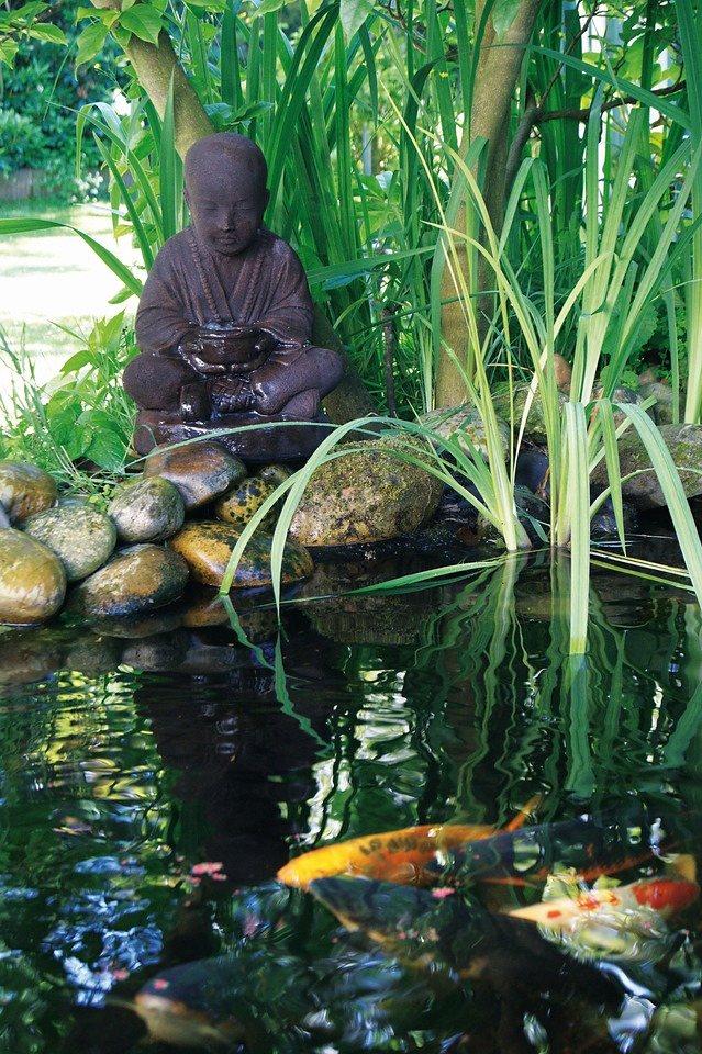 Set: Wasserspiel »Semarang« in braun