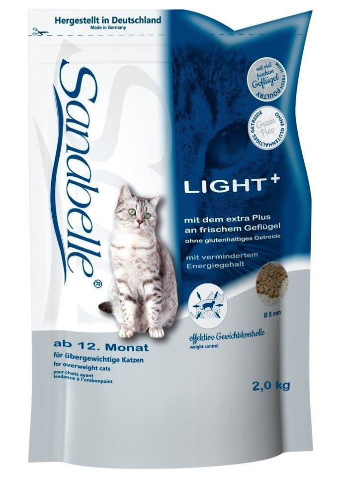 Katzentrockenfutter »Light«, 2 kg oder 10 kg in braun