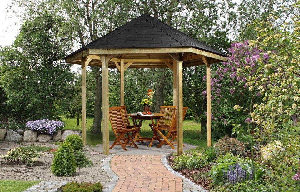weka set pavillon set paradies 1 online kaufen otto. Black Bedroom Furniture Sets. Home Design Ideas