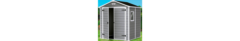 Kunststoffhaus »Manor 6x8«, DUO TECH, BxT: 175x222 cm