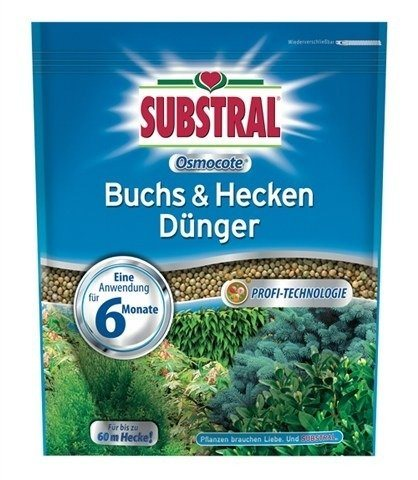 Osmocote Buchs & Hecken Dünger in blau