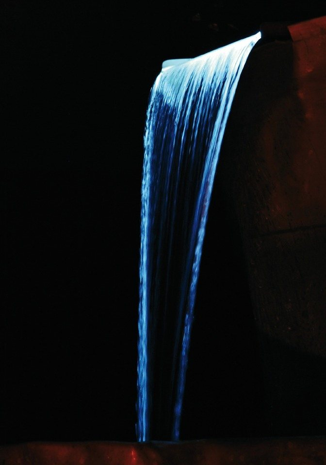 Wasserfall »Niagara 30 LED« in silberfarben