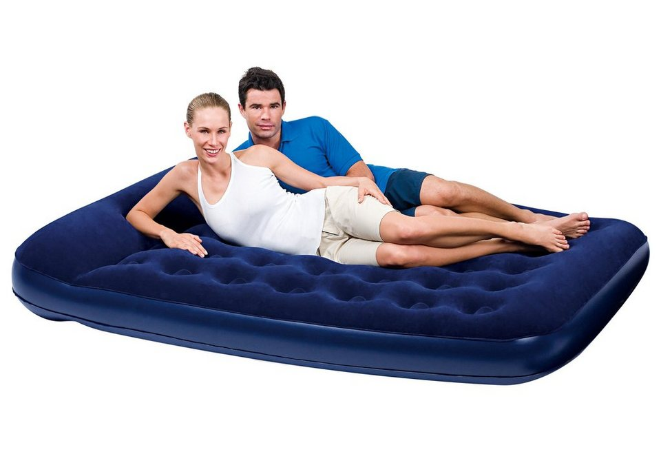 Luftbett »Easy Inflate« in blau