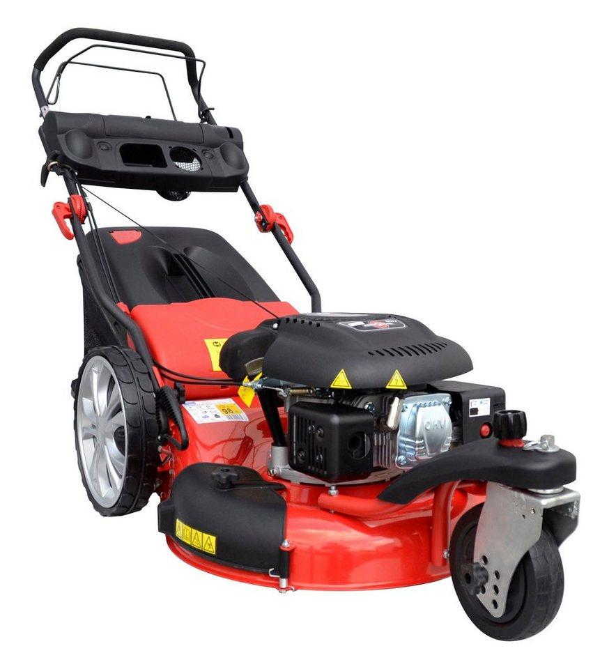 Set: Benzin-Rasenmäher »BIG WHEELER 515 D Trike«, Schnittbreite: 51 cm in rot