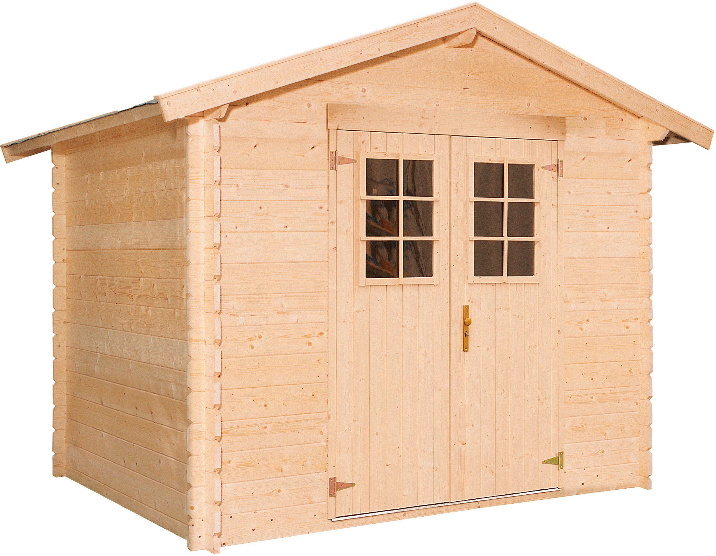 LUOMAN Gartenhaus »Lillevilla 141-0«, BxT: 260x180 cm, 19 mm