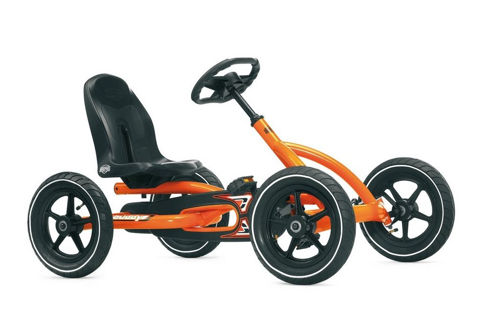 Go-Kart »Buddy Orange« in schwarz