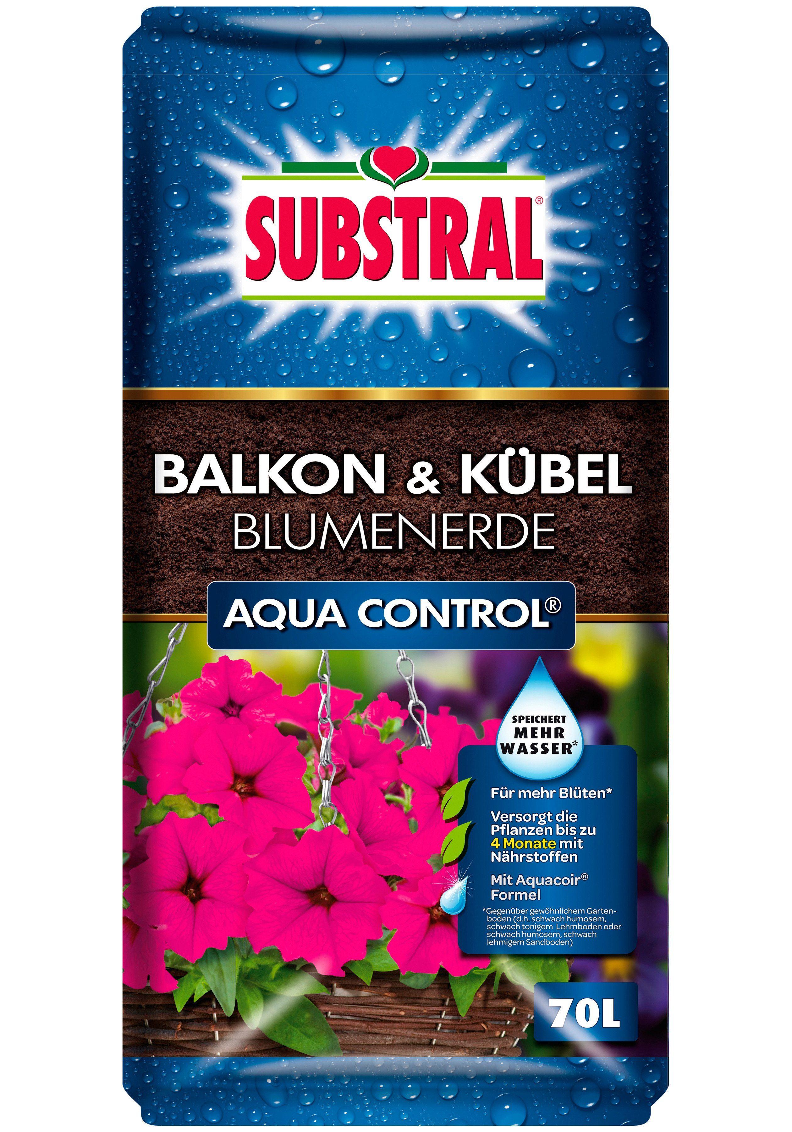 Balkon & Kübel Blumenerde Aqua Control