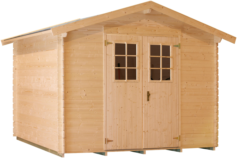 LUOMAN Gartenhaus »Lillevilla 143-0«, BxT: 260x260 cm, 19 mm