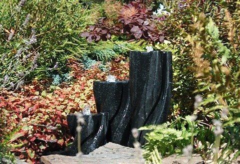 Set: Gartenbrunnen »New York« (7-tlg.) in grau