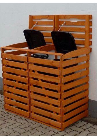 PROMADINO Dėžė šiukšlių konteineriams dėl 2x240 ...