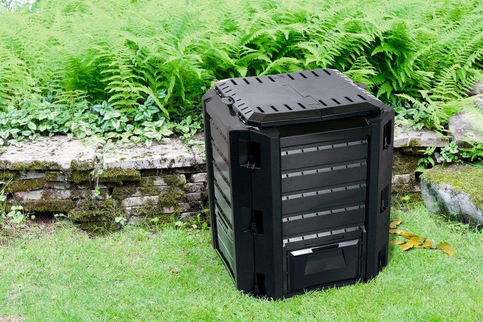 prosperplast komposter 380 l online kaufen otto. Black Bedroom Furniture Sets. Home Design Ideas