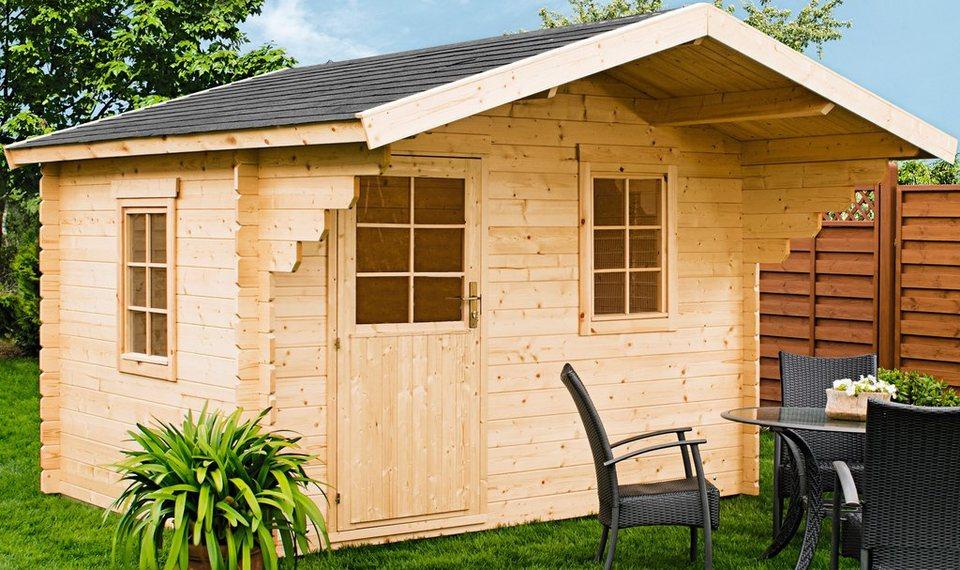 Gartenhaus »Lillevilla 274«, BxT: 300x300 cm in natur