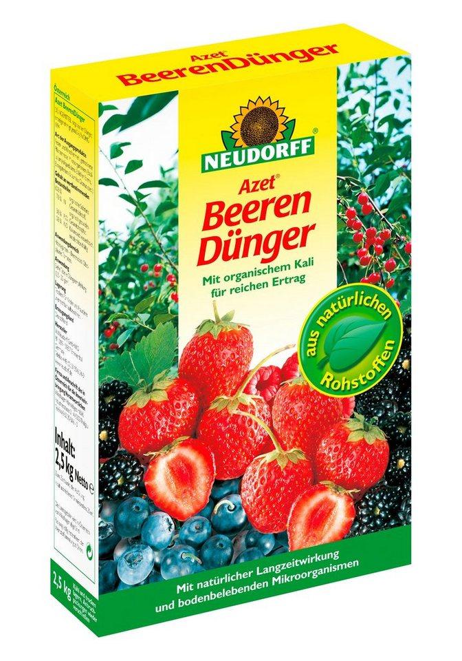 Beeren-Dünger in weiß