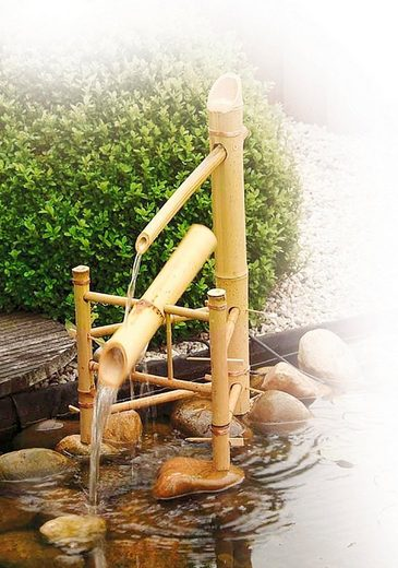 UBBINK Set: Wasserspiel »Bambus«, 66 cm Höhe