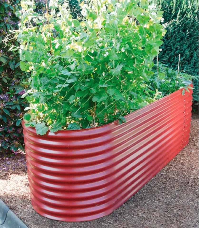 Hochbeet »Zincalume® Basic«, in rot